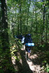 Backpacking on the Interloken Trail