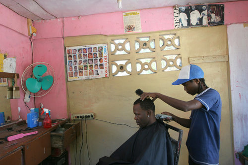 Barber Shop Ithaca : Barber Shop, Haitian Bataille, Dominican Republic, 2006 - Photographs ...
