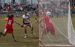 Borisenok '12 scores the winning goal.