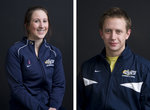 Brianne Sullivan '10 and Joe Gage '11 are star athletes at Ithaca.