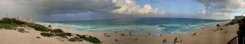 beach at Cancun, Mexico