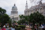 view of the capital building in Havana, Cuba