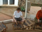 Chris Litten playing the Gyil