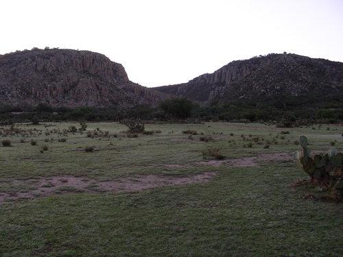 Distant view of El Coporo