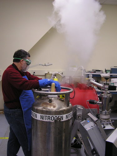 FORCAST cooling with liquid nitrogen.
