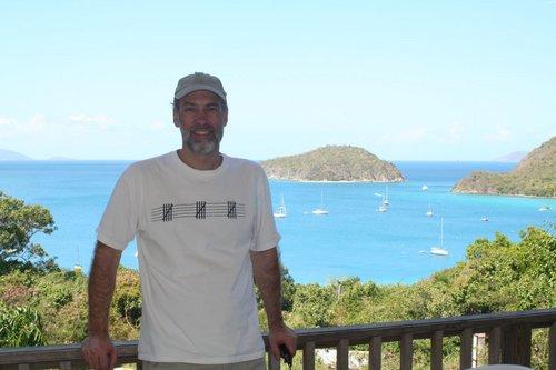 Gordon at Maho Bay Campground