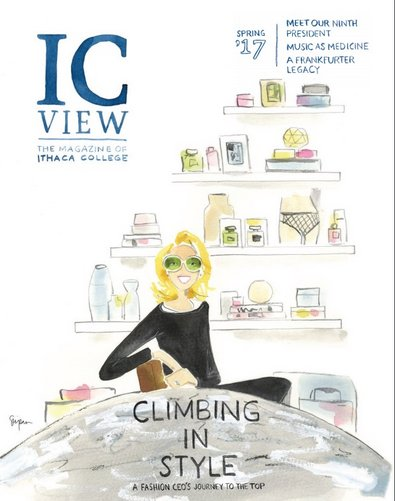 cover image for the Spring 2017 issue of ICView magazine