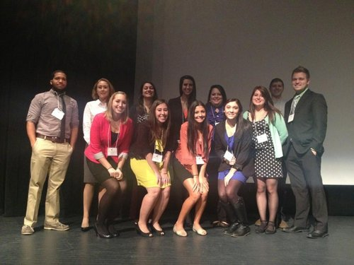 IC' s AAF Chapter Attends 55th Annual AWNY Career Conference
