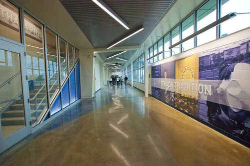 Inside the A&E Center