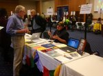 Philosophy & Religion table at Majors and Minors Fair