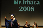 Matt Karp thanks the audience after being crowned Mr. Ithaca