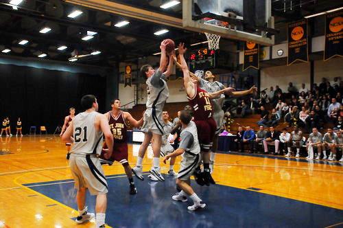 men u0026 39 s basketball vs  st  john fisher college  february 14