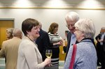 Reception at Ithaca College - April 3, 2014