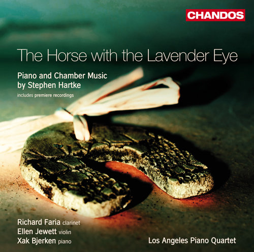 Richard Faria '87, The Horse with the Lavender Eye: Piano and Chamber Music