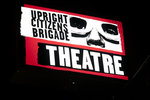 The marquis for the Upright Citizens Brigade