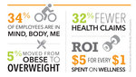 Wellness infographic horizontal