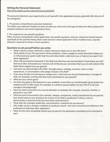 School Leadership/MSTE Departmental Essay - Graduate School