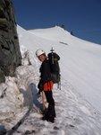 Kristin on Mount Daniel