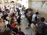 women praying at the Western Wall in Jerusalem