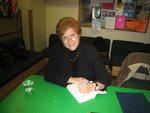 Book signing with Deborah