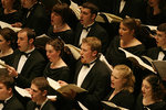 Ithaca College students performing Carmina Burana