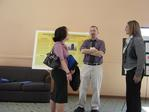 Ithaca Students talk to Prof. Stephenson