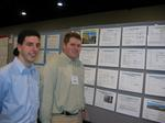 Mike Sangi and Kenneth Lassen in front of their poster.