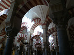 interior of mosque, Cordoba