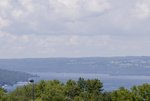 The view of Cayuga Lake from South Hill