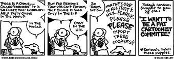 Dave Kellett's HobNobs comic strip