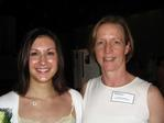 Professor Betsy Keller with Clinical Exercise Science Student Andrea Bossone