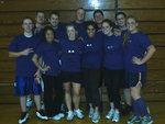 Co-Rec Indoor Flag Football Champions- Team Grimace