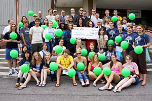IC celebrates HSBC grant