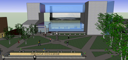 3 D Models From Great Spaces Course Lauren O 39 Connell Ithaca College