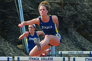 Here's Emma Dewart '12 competing at Ithaca this spring. Photo: Allison Usavage '12