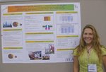 Krista Fieselmann (Biochem '10) at American Chemical Society National Meeting at Washington D.C. in August 2009