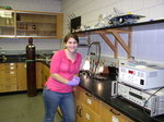 Whitney Thurber (Biochem 09) in master nutrition program in VT.