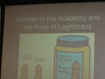Holly's presentation at SUCCEEDING AS WOMEN IN HIGHER EDUCATION