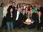 IC Team with AAF District Two Trophy for Yahoo!