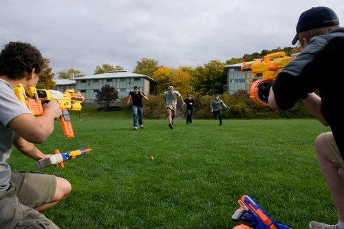 Zombies attack! Photo by Matthew Watkajytys '11