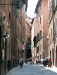 Narrow Sienese street