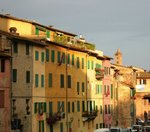 Colorful houses, Siena