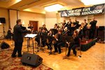 IC Jazz Ensemble performing at NYSBDA Conference, 2009