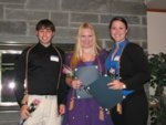 Graduate students honored at the Rainbow Reception