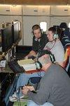 FORCAST team members working on SOFIA