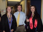 Meghan Leary, Dan Breen, and Lauren Campbell