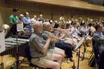Ithaca College Band Reunion Rehearsal
