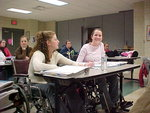 Wheelchair use in class