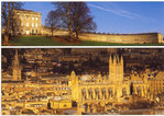 Royal Crescent and Bath Abbey