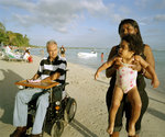 Family, Boca Chica, Dominican Republic 2005